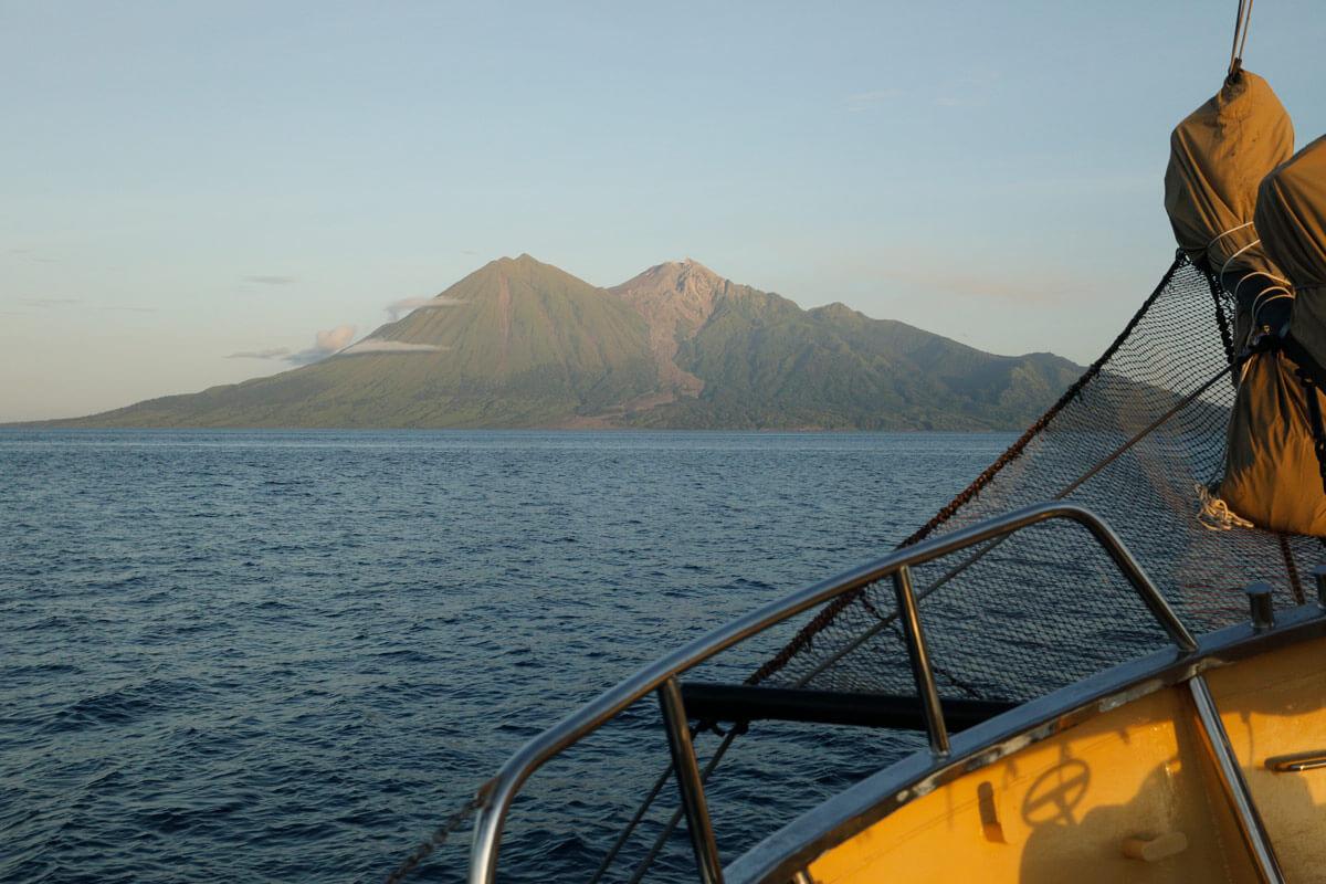 Sangeang volcano