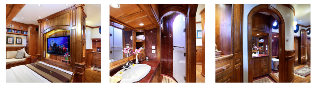 Ultimate cabins for a cruise for couples