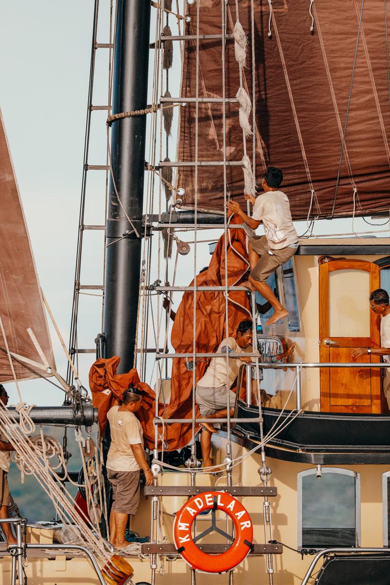 Sailing Indonesia