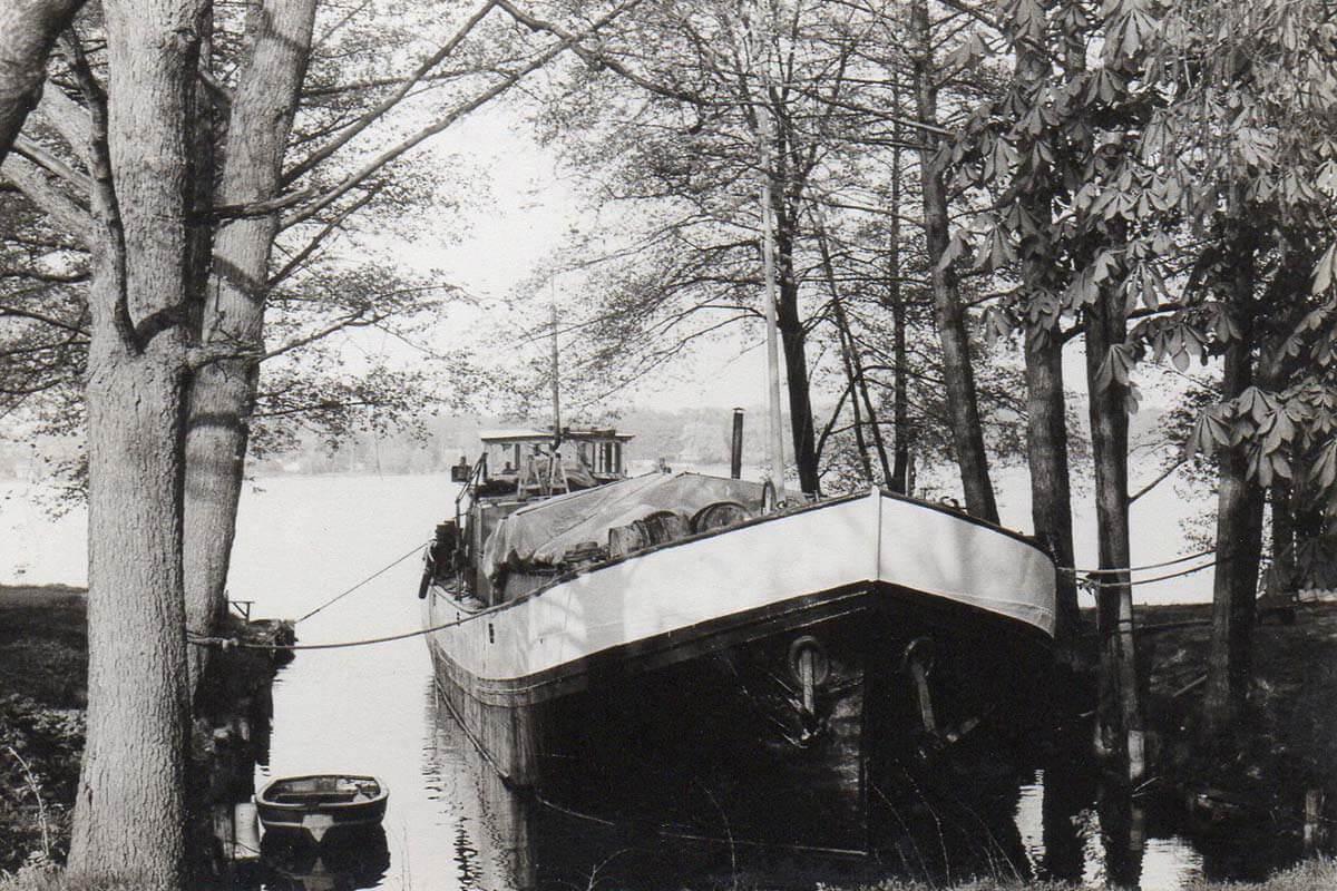 historic sailboat